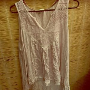 Knox Rose light pink sleeveless shirt